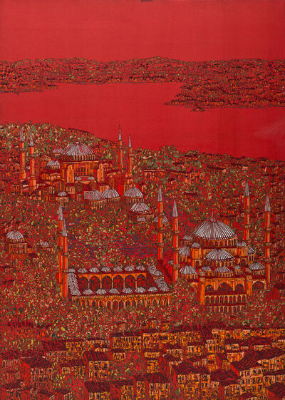 Devrim Erbil, 'Istanbul Red 6', 2013
