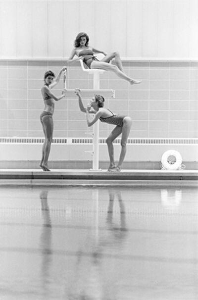 Robert Farber, 'Gia on the Lifeguard Stand', 1979