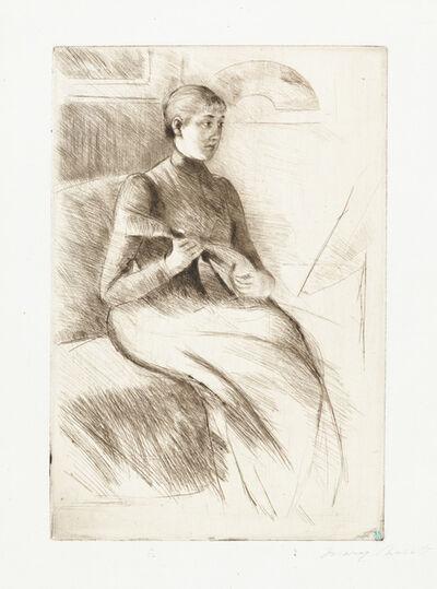 Mary Cassatt, 'The Mandolin Player', ca. 1899