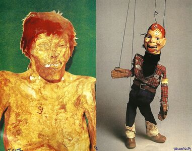 Mike Kelley & Paul McCarthy, 'Redheads (Female/Male - Indian/Cowboy)', 1992