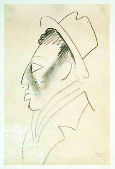 Miguel Covarrubias, 'MAN IN PROFILE', ca. 1925