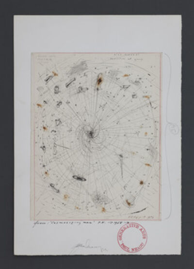 Paul Neagu, 'Cosmosizing Man', 1975
