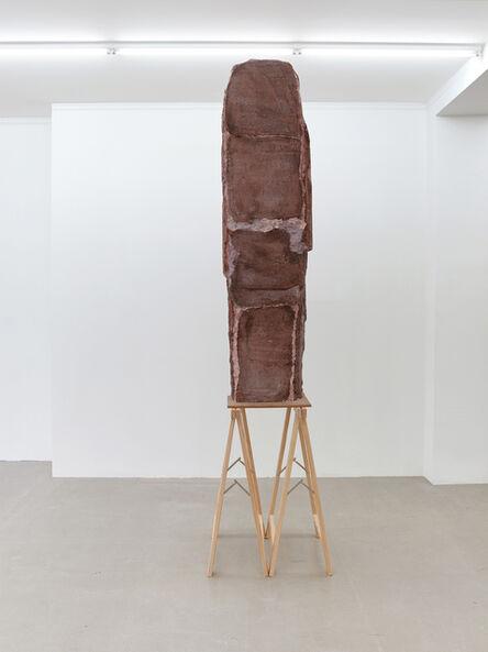 Esther Kläs, 'High (Brown)', 2017