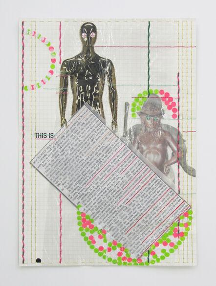 Matt Damhave, 'Untitled (How To Keep Sick)', 2018