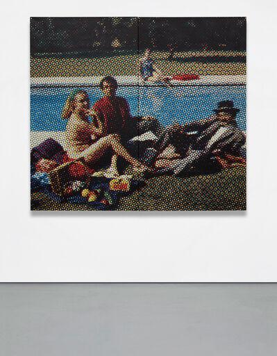 Alain Jacquet, 'Le Dejeuner sur l'herbe', 1964