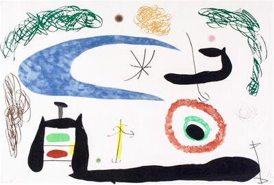 Joan Miró, 'Dormir sous la Lune', 1969