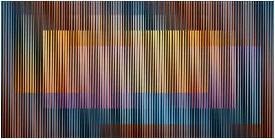 Carlos Cruz-Diez, 'Induction Chromatique Fedix 3 ', 2010