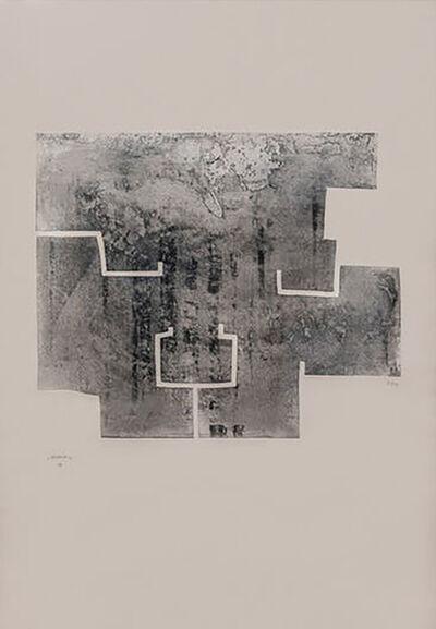 Eduardo Chillida, 'Euzkadi VI', 1976