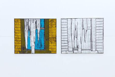 "Matt Mullican, '""Comic Details (ice)""', 2012"