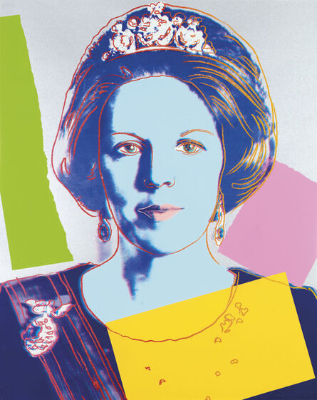 Andy Warhol, 'Queen Beatrix, from: Reigning Queens (Royal Edition)', 1985