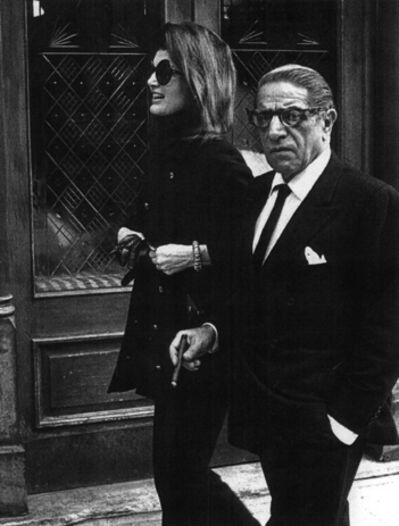 Ron Galella, 'Jacqueline Kennedy and Aristotle Onassis at P.J. Clarke's Restaurant, New York', 1971