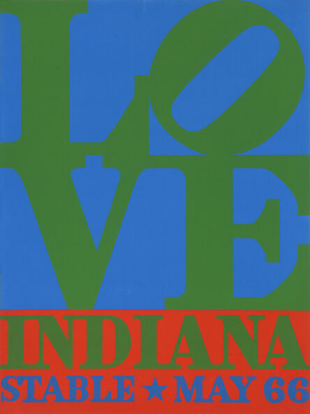 Robert Indiana, 'Love. Screenprint poster for the Stable Gallery', 1966