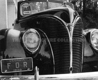 Margaret Bourke-White, 'FDR's Car', 1938