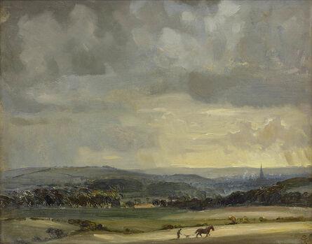 Edward Seago, 'Rainclouds Over Salisbury', 1935
