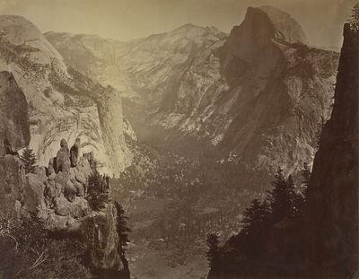 Carleton E. Watkins, 'The Domes from Glacier Rock', 1880