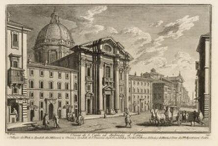 Giuseppe Vasi, 'Chiesa di S. Carlo, ed Ambrogio al Corso', 1747-1801