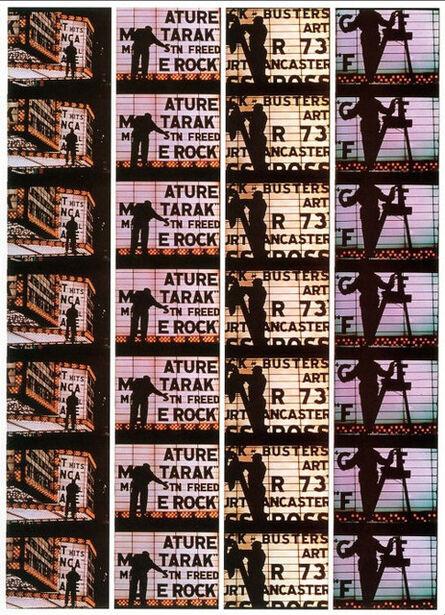 William Klein, 'Film Strips from Broadway by Light 4', 1958