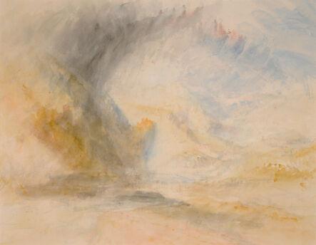 J. M. W. Turner, 'Foot of St. Gothard', ca. 1842