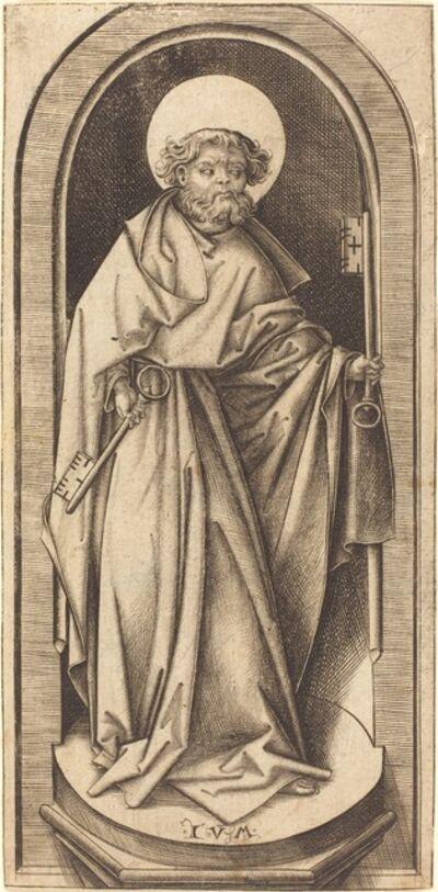 Israhel van Meckenem, 'Saint Peter', ca. 1490/1503
