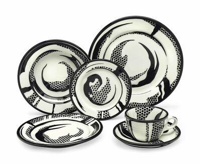 Roy Lichtenstein, 'Dinnerware: ten place settings', 1966