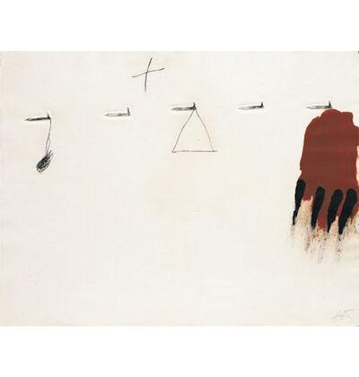 Antoni Tàpies, 'Claus I Ditades', 1971
