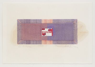 Henri Chopin, 'Postcode', 1980