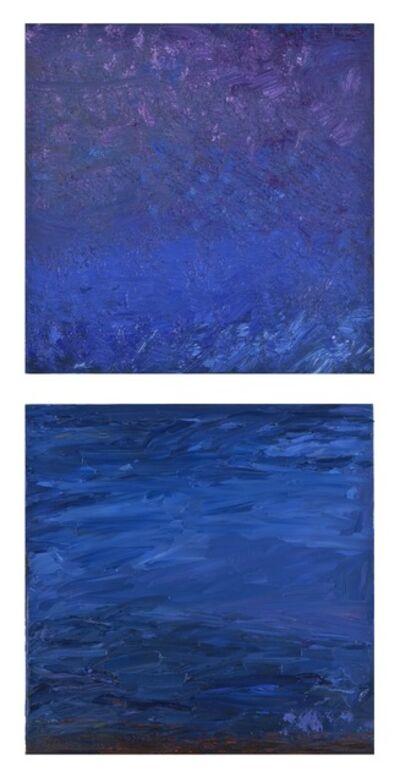 Carole Pierce, 'Elements: Deep Water-Diptych', 2014-2015