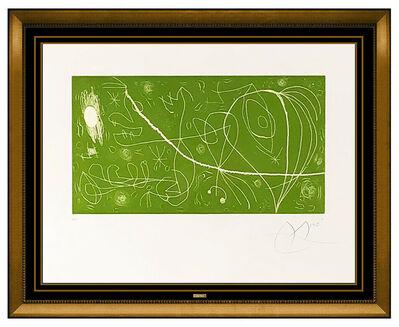 Joan Miró, 'Picasso I Els Reventos', 1973