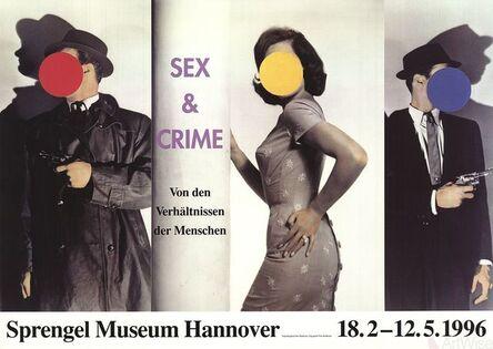John Baldessari, 'Sex and Crime', 1996