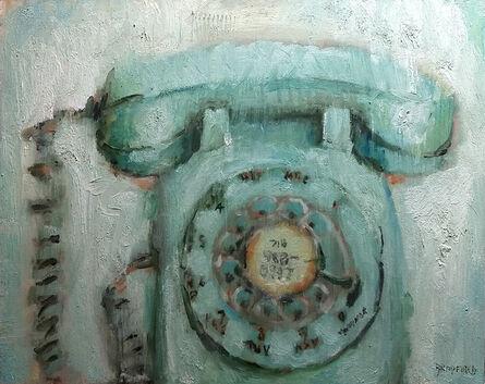 Bradford J. Salamon, 'Green Phone', 2020