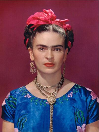 Nickolas Muray, 'Frida Kahlo In Blue Blouse', 1939