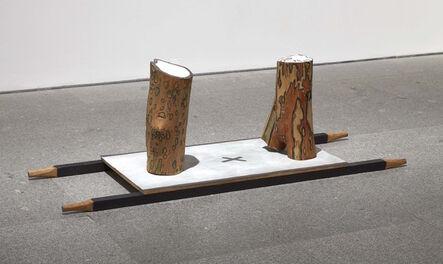 Ree Morton, 'Untitled (Stretcher Piece)', 1974