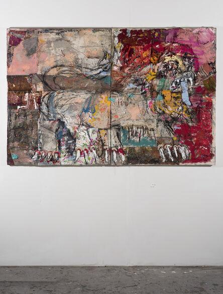 Daniel Crews-Chubb, 'Lion Ubud (Red and copper),', 2018