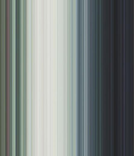 Yagiz Özgen, 'Water Lilies (256 Stripes)', 2015