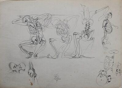 Franciszek Starowieyski, 'Skeletons', 1975
