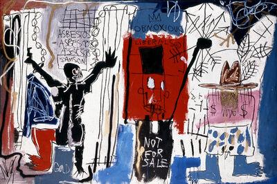 Jean-Michel Basquiat, 'Obnoxious Liberals', 1982