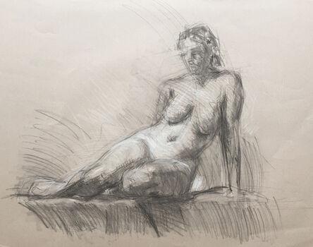 Ben Fenske, 'Nude Sketch No. 3', 2009