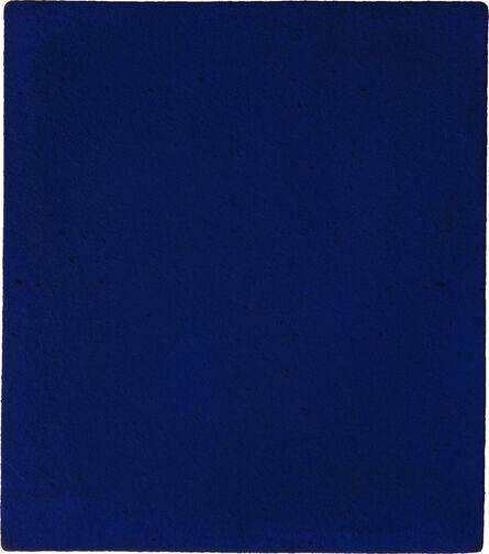 Yves Klein, 'Untitled blue monochrome (IKB 187)', 1960