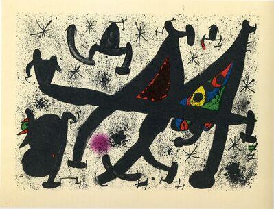 Joan Miró, 'Homenatge a Joan Prats 11', 1971