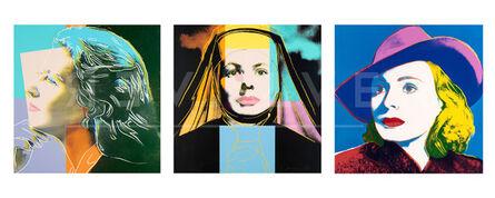 Andy Warhol, 'Ingrid Bergman Complete Portfolio (FS II.313-315)', 1983