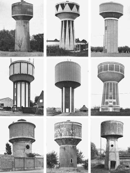 Bernd and Hilla Becher, 'Typologie Wassertürme', 1967-2010