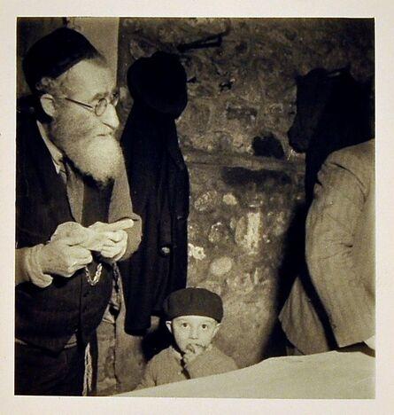 Roman Vishniac, 'Rabbi and Child, Eastern Europe', 1935-38