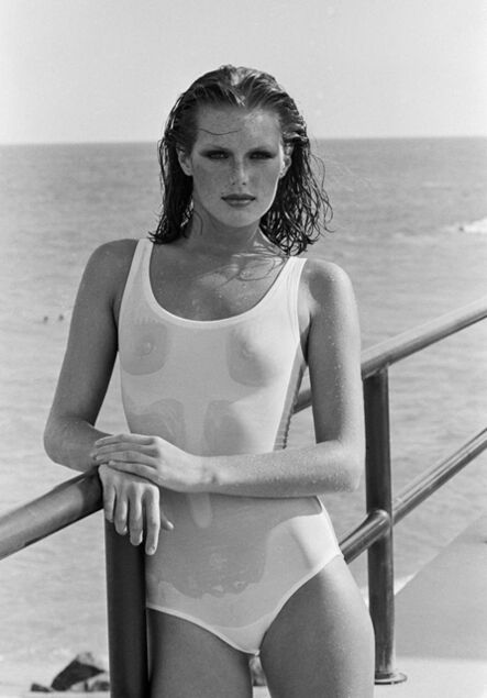 Arthur Elgort, 'Patti Hansen, Palm Beach, Vogue', 1975