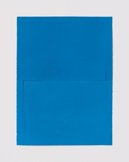 Stephen Antonakos, 'Untitled Cut, O#18', 1977