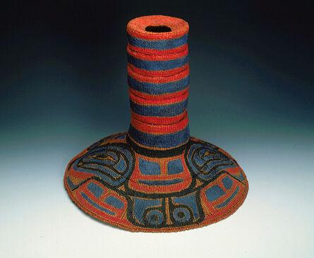 Unknown Artist, 'Potlatch Hat', ca. 1910