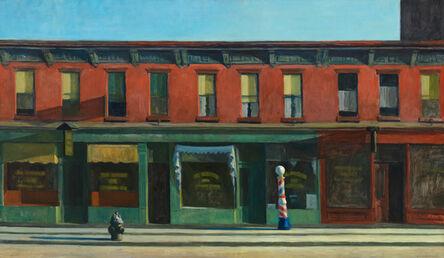 Edward Hopper, 'Early Sunday Morning', 1930