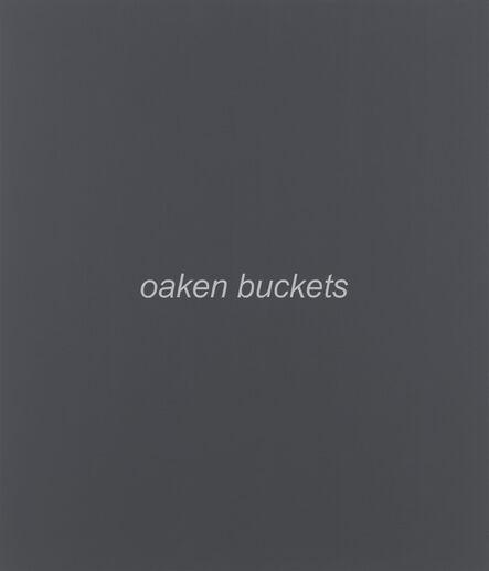 John Baldessari, 'Real Painting (oaken buckets)', 2013