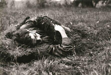 Vladimir Havlik, 'Attempt to Sleep, 13x20 cm each, silver print', 1982
