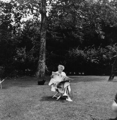 Genevieve Naylor, 'Eleanor Roosevelt, Hyde Park, New York', 1956