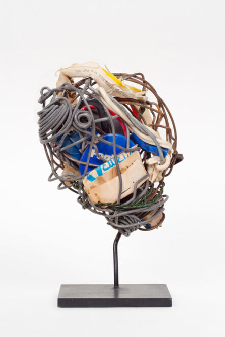 Philadelphia Wireman, 'Untitled (button, straw & matches)', 1970-1975